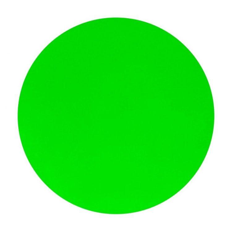 Fluro Green Paste