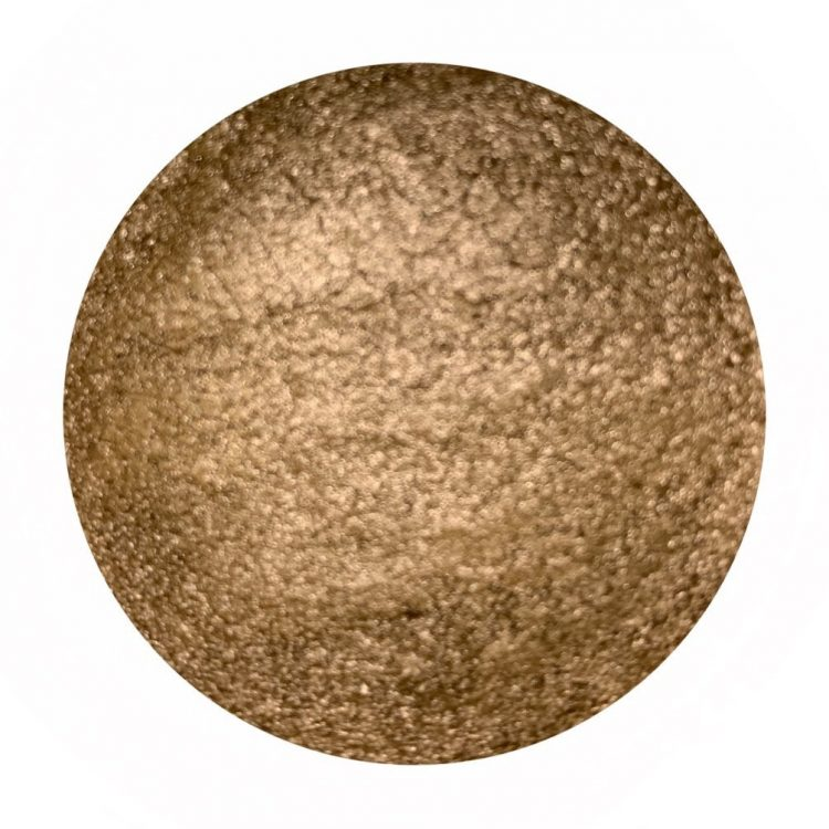 Rich gold powder - metal series