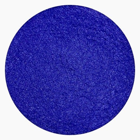 Cobalt Blue Shimmer Powder - mica