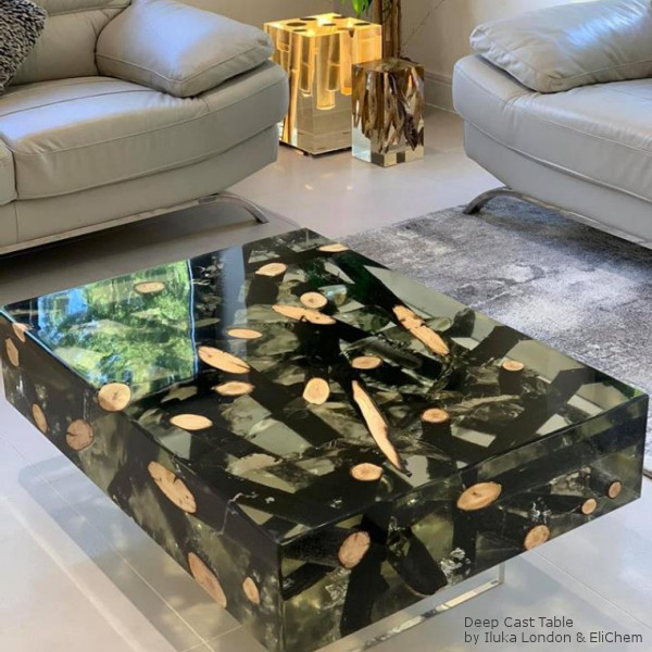 Deep Cast Table by Iluka London and EliChem