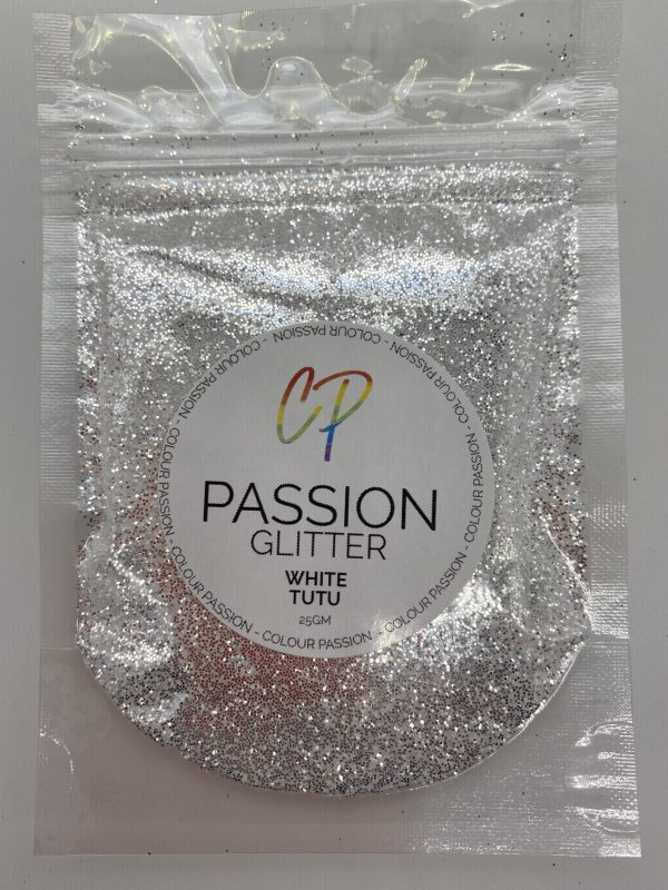 White Tutu Mirror Glitter - Colour Passion