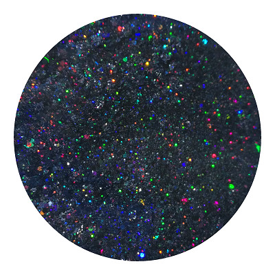 black holographic glitter RGLB01000H by Resin and More