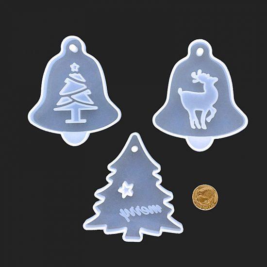 Christmas mould trio