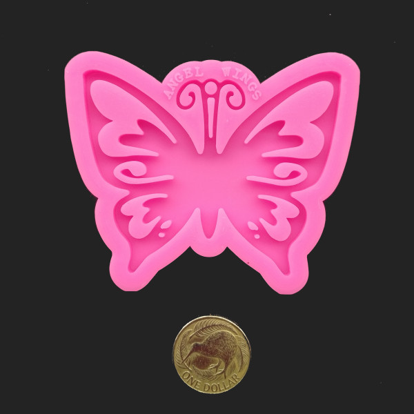 Butterfly silicone mould