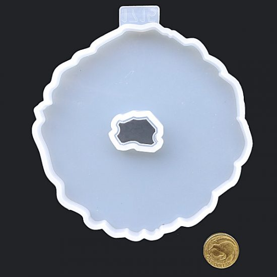 Round wave edged Silicone mould
