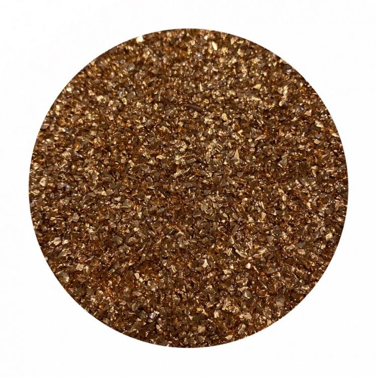 Rose gold glass glitter by Colour Passion