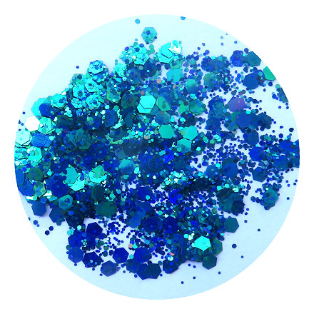 Blue vision glitter RMCBSL007Hby Resin and More