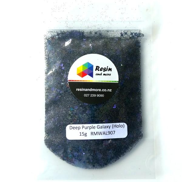 deep purple galaxy glitter RMWAL907
