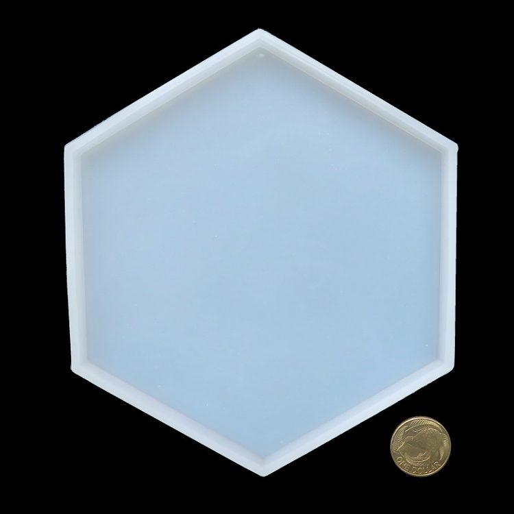 Hexagon coaster mould