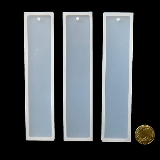 Rectangular Silicone Bookmark Moulds